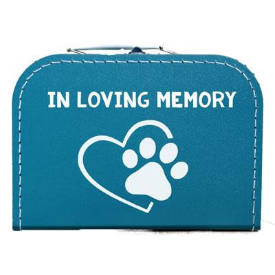 Koffer voor overleden hond