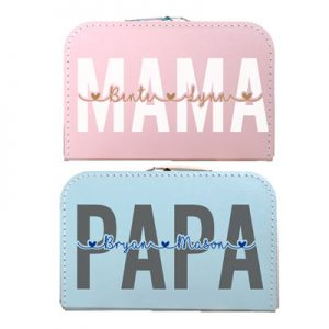 Kinderkoffer papa/mama