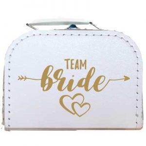 Huwelijkskoffer team bride