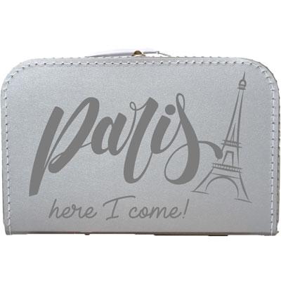 Paris here i come vakantiekoffer