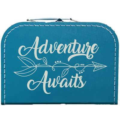 Adventure awaits koffer