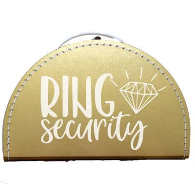ringkoffer huwelijk ring security